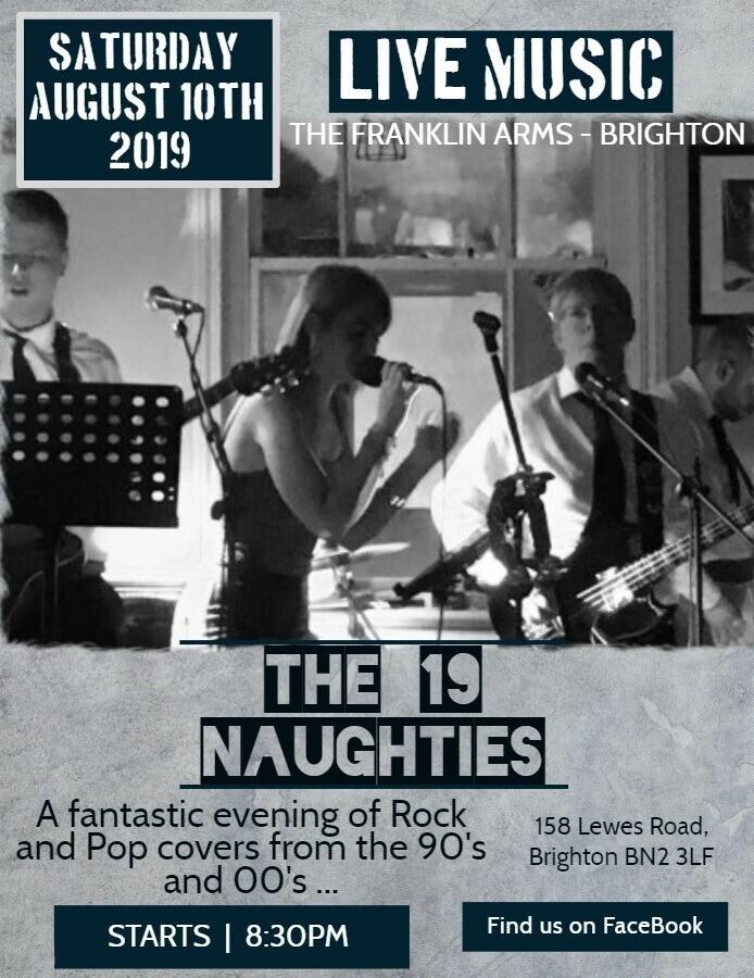 The 19 Naughties Live!