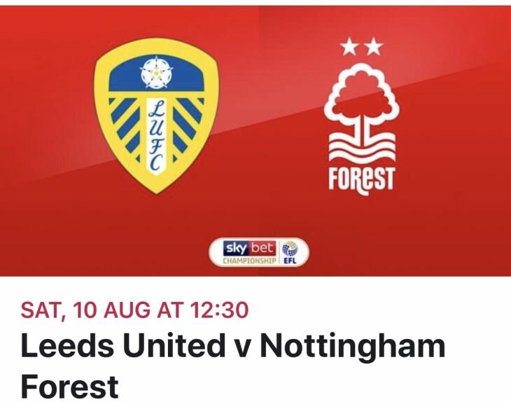Leeds v Notts Forest