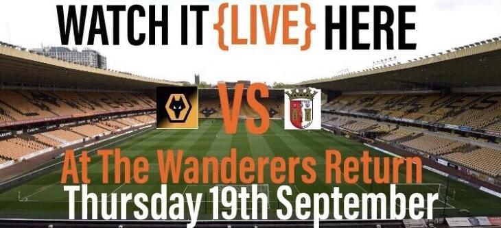 Wolverhampton Wanderers' vs Braga