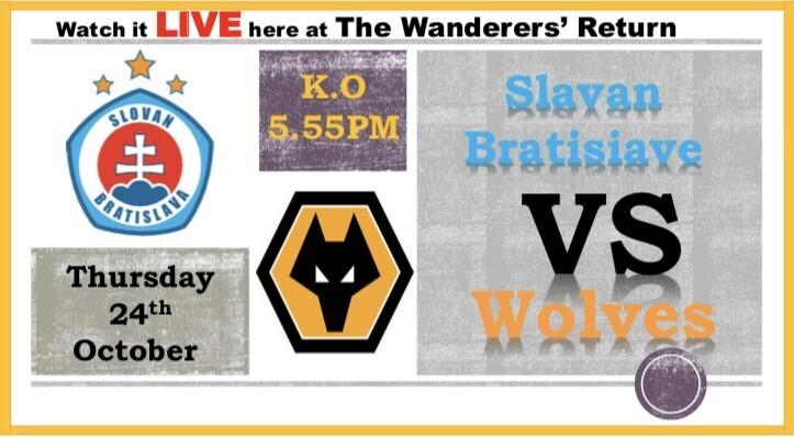 Wolverhampton vs Slavan Bratisiava