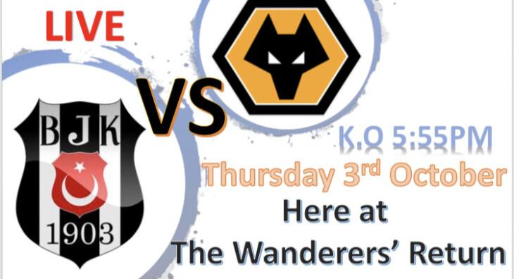 Wolverhampton vs Besiktas