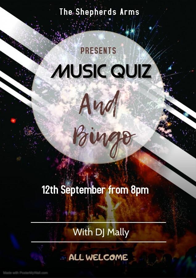 Music Quiz and Bingo
