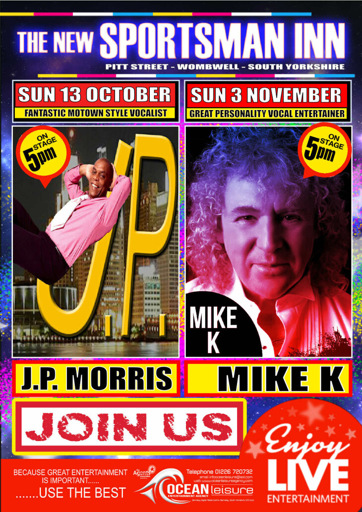 Sole & Motown Live Entertainment