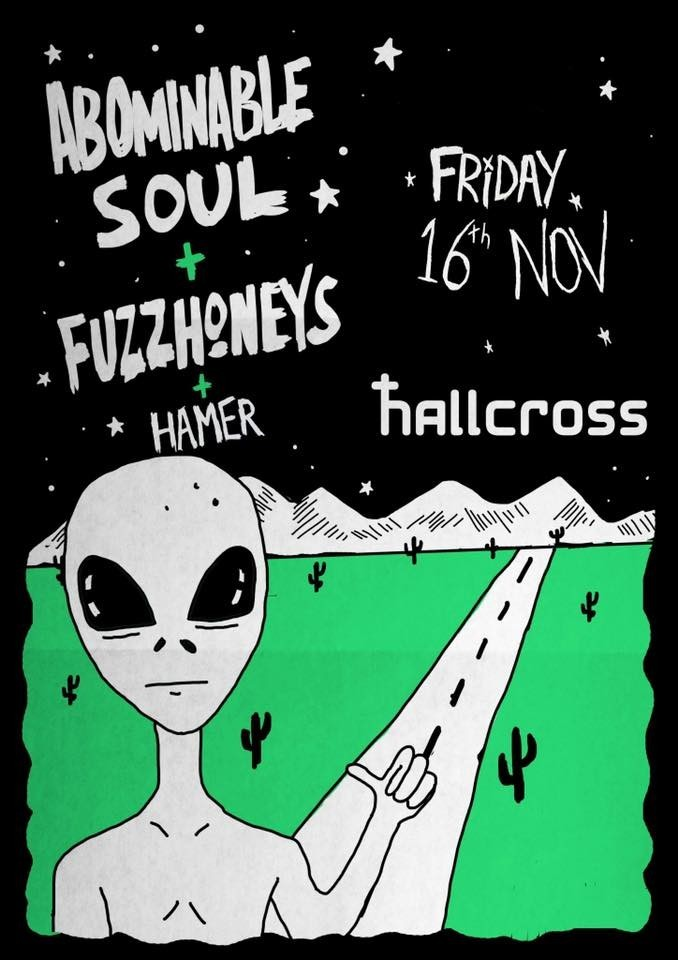 Abominable soul/Fuzz monkeys/Hamer