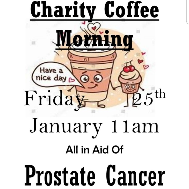 Charity coffee morning