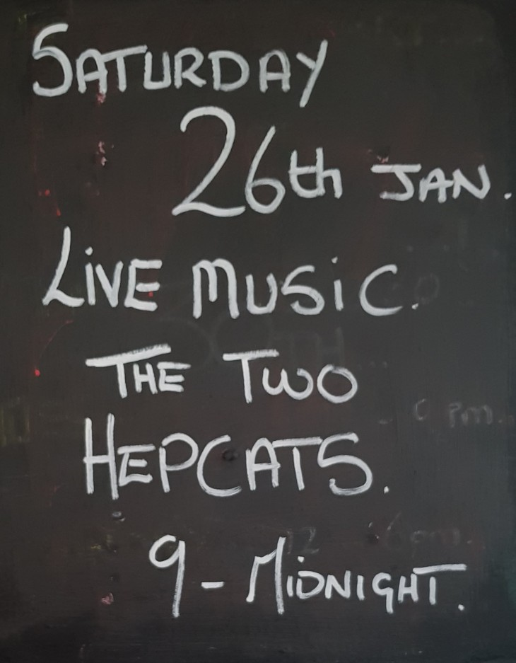 Live Music Saturday 26th January