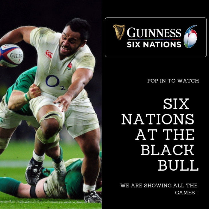 Six Nations at the Black Bull