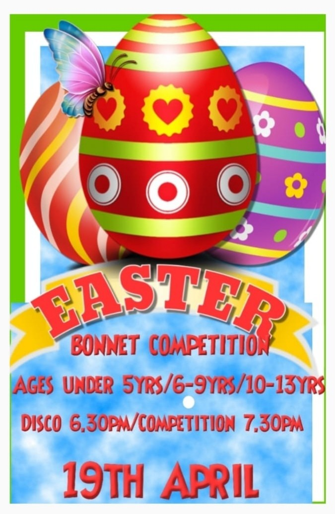 Childrens Disco & Easter Competition