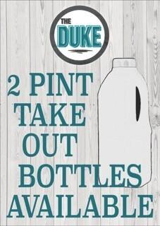 2 Pint Milk Bottles