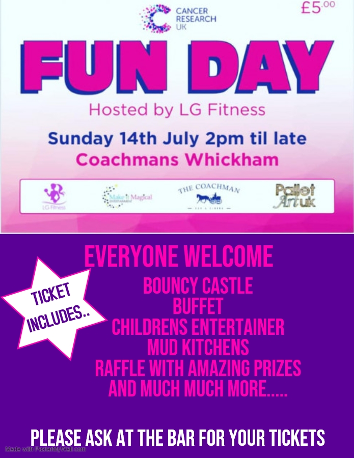 Race For Life Fun Day!