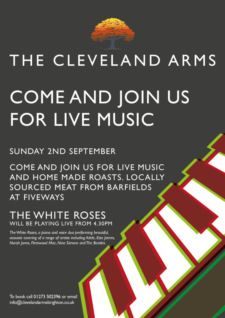 Live music with the White Roses