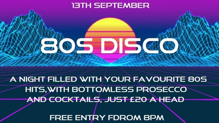 80s Disco Night