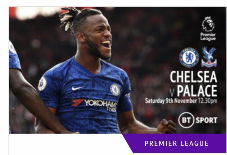 Chelsea v palace