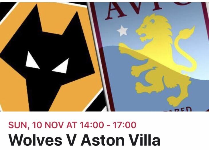 Wolves v villa