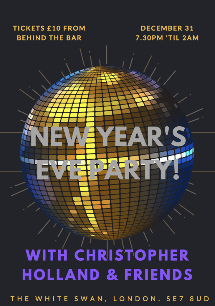 NEWYEARSEVE with CHRISTOPHER HOLLAND