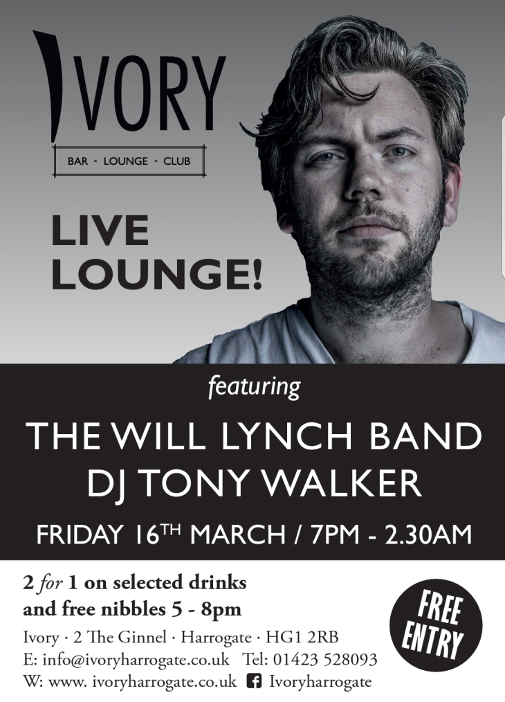 The Will Lynch Band at Ivory