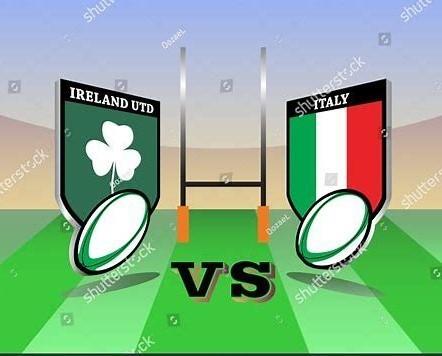 Ireland Vs Italy.