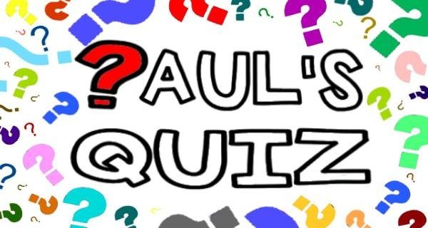 Quiz Night With Paul