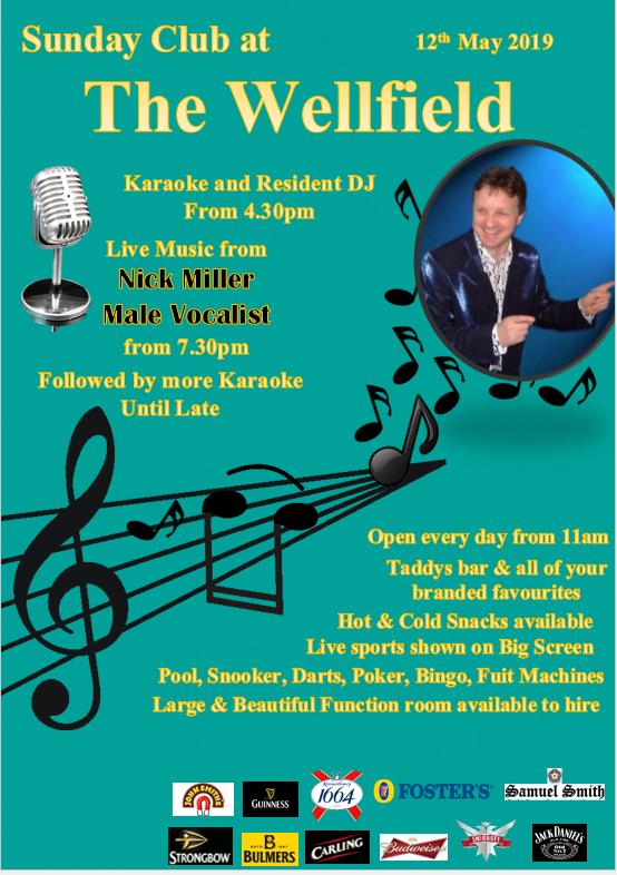 Sunday Club - Nick Miller & Karaoke