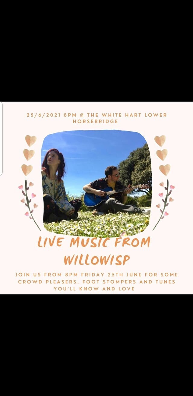Live Music Friday 25th June 8pm