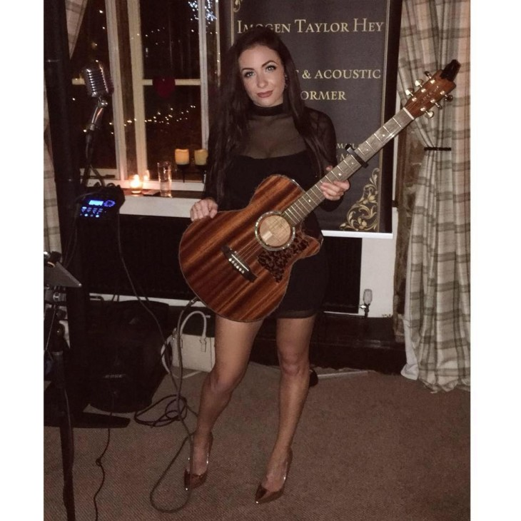 IMOGEN TAYLOR HEY LIVE AT IVORY