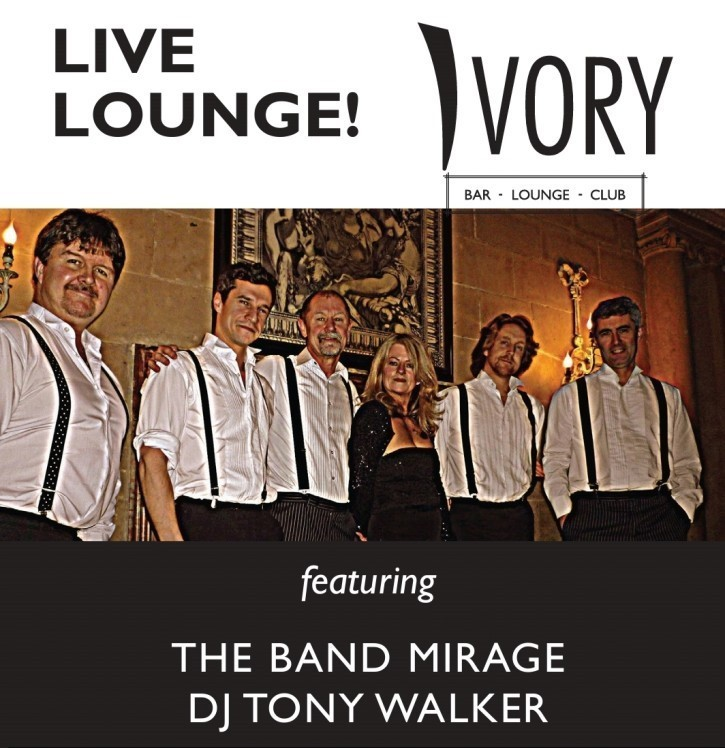 The Band Mirage Live at Ivory