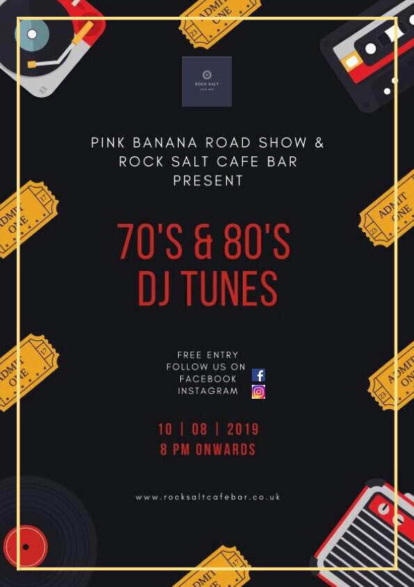 "70's & 80""s DJ Tunes"
