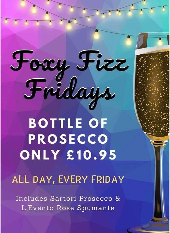 Foxy Fizz Fridays