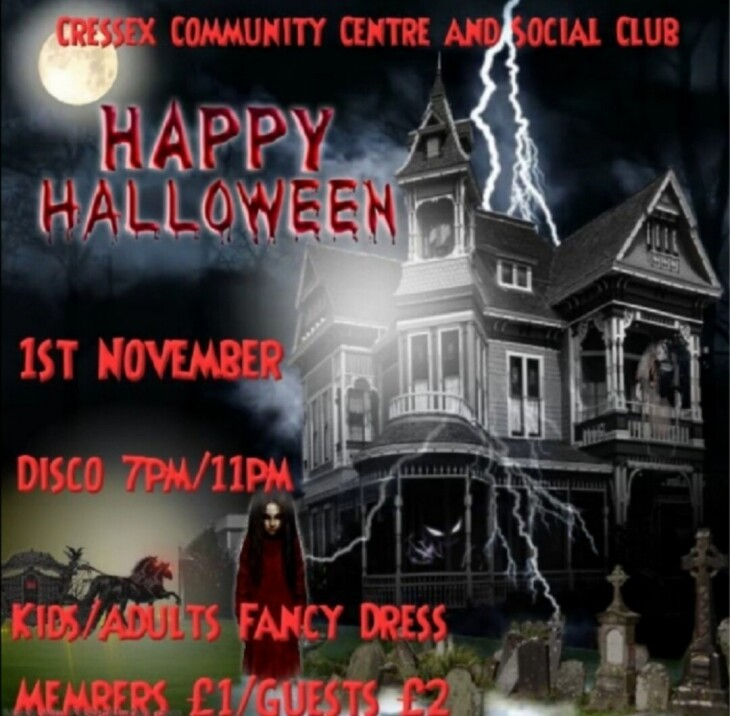 HALLOWEEN DISCO/FANCY DRESS