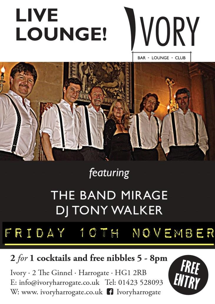 The Band Mirage and Dj Tony Walker