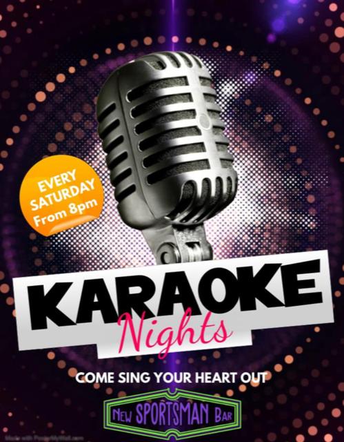 Saturday Night Karaoke Night