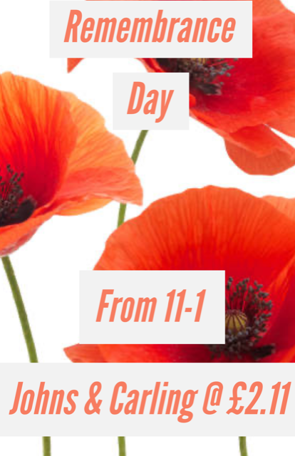 Remembrance Day - This Sunday