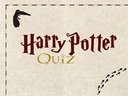 Harry Potter themed quiz night