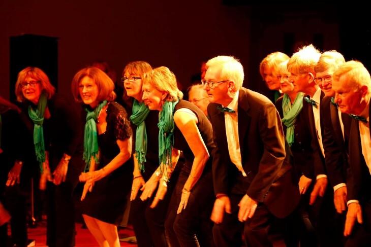 South Hams Choir performing live!