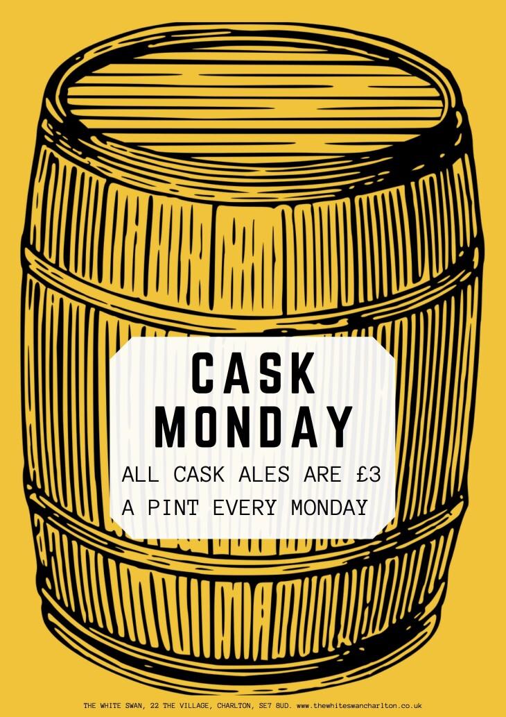 Cask Monday