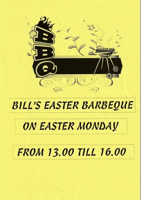 EASTER MONDAY BBQ