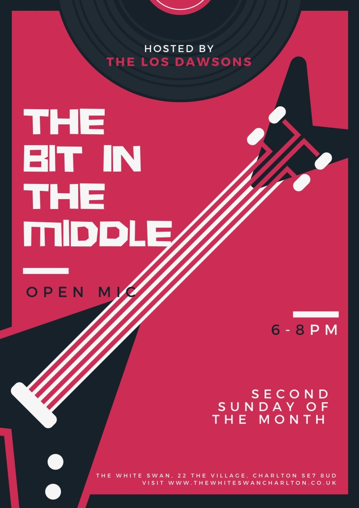 THE BIT IN THE MIDDLE OPEN MIC