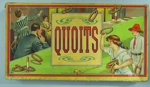 Quoits cup game at home