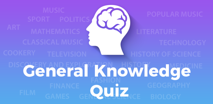 Sunday night General Knowledge Quiz