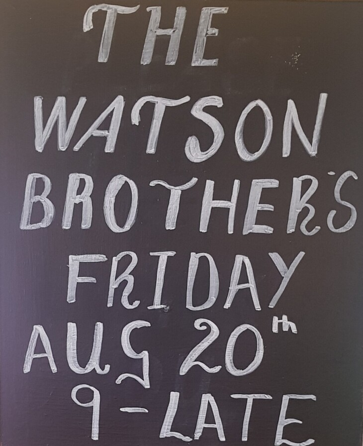 Live Music Friday  20th August