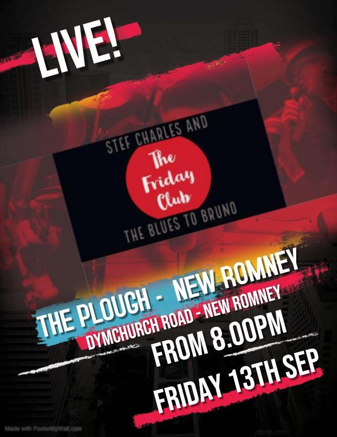 The Friday Club Return....