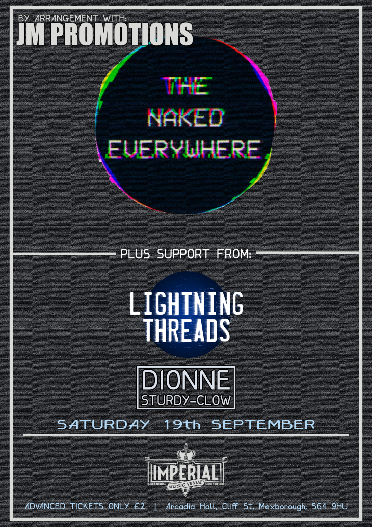 The Naked Everywhere + Support