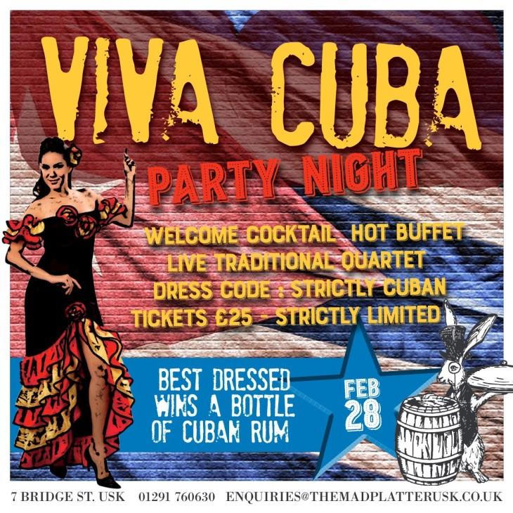 Cuban Rum Cocktail Night
