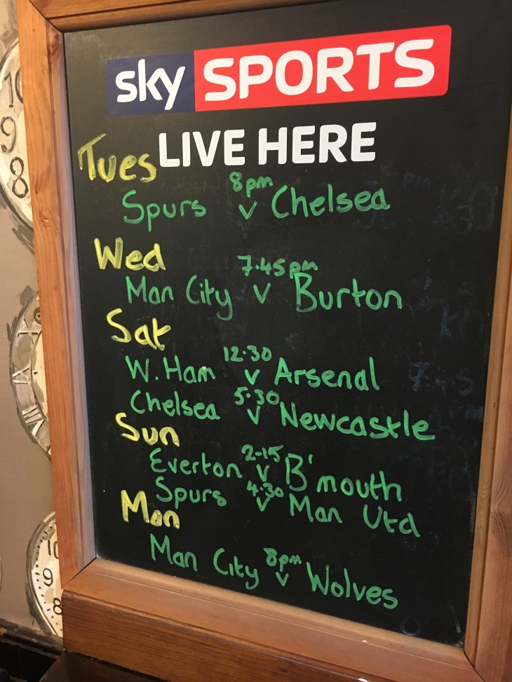 Spurs v Man Utd