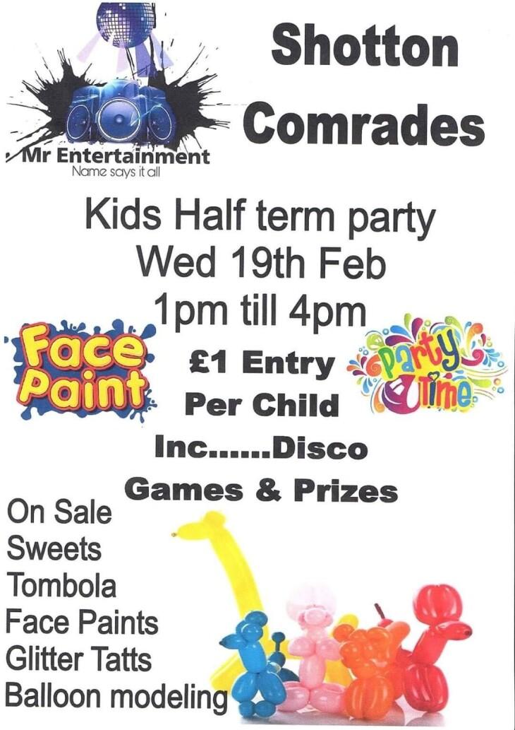 Valentines Kids Disco