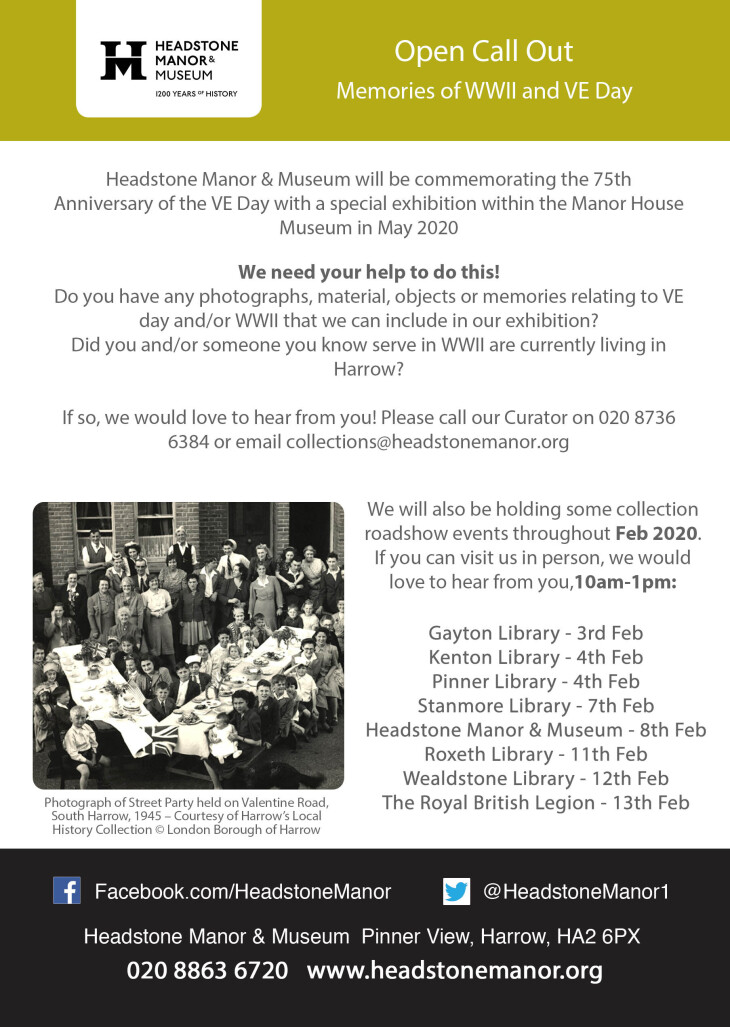 VE DAY & WWII COLLECTION ROADSHOW