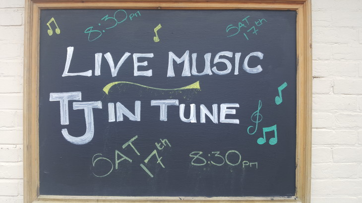 Live Music with TJ In Tune