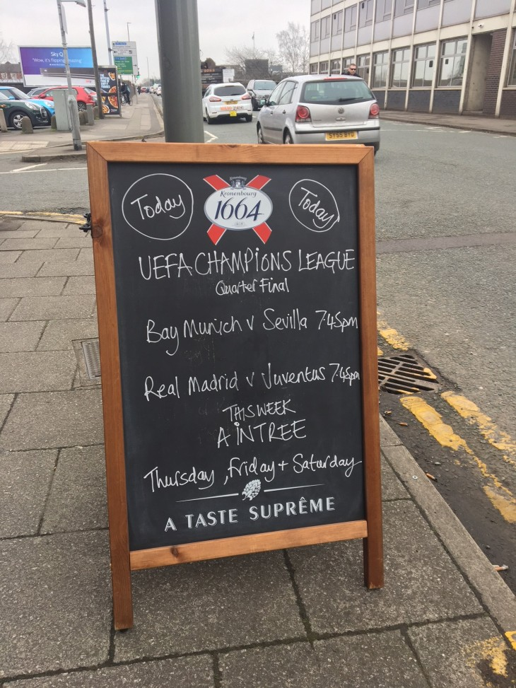 Corner Bar - Footy Tonight
