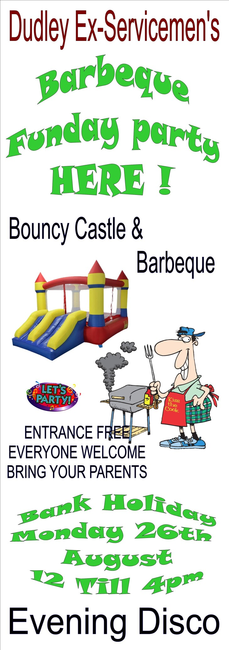 BARBEQUE & BOUNCY CASTLE