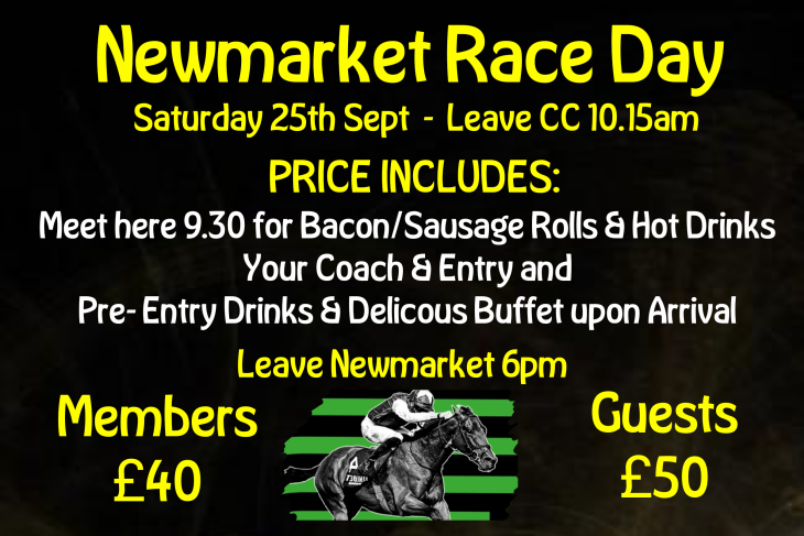 NEWMARKET RACE DAY